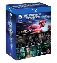 DC Comics Starter Pack (Arrow/Flash/Gotham - Season 1) (Blu-ray)