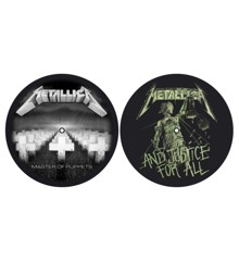 Slipmat set - Master Of Puppets & ...And Justice For All