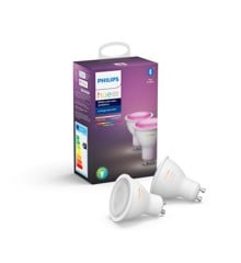 Philips Hue -  GU10 2-Pack - Color Ambiance - Bluetooth