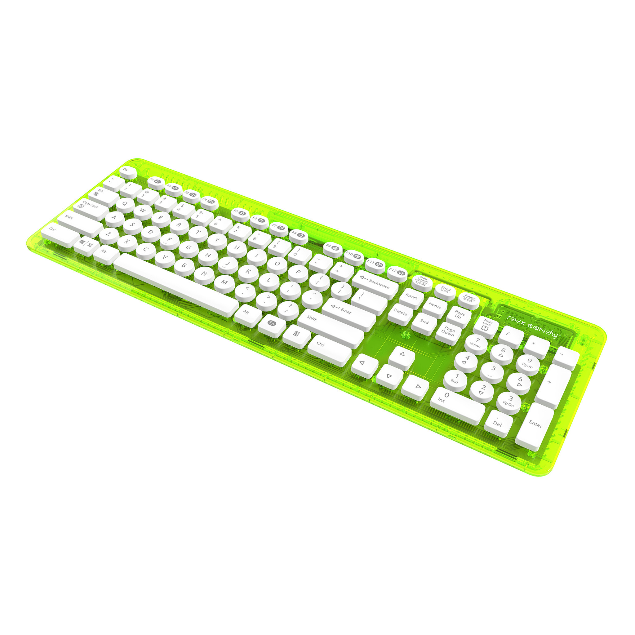 Rock Candy Wireless Keyboard - Lalalime (Nordic Layout)