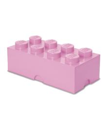 Room Copenhagen - LEGO Opbevaringskasse Brick 8 - Lys Lilla