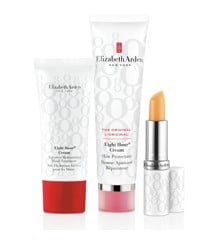 Elizabeth Arden - Eight Hour  Cream skin protector 50 ml +  Lip Stick 3,7 g + Intensive Moisturizing Hand Cream 30 ml - Gavesæt