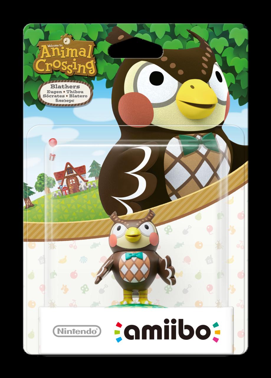 Nintendo Amiibo Figurine Blathers