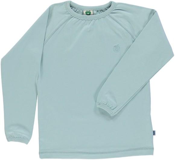 Småfolk - Økologisk Basis Langærmet T-Shirt - Ether