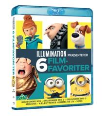 Illumination 6-Movie Collection (Blu-Ray)