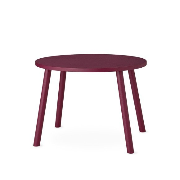Nofred - Mouse Table - Burgundy
