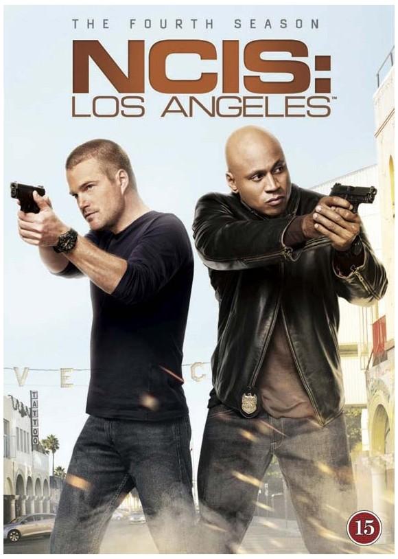 NCIS; Los Angelsen - Sæson 4 - DVD
