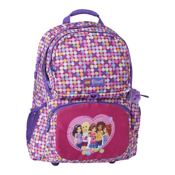 LEGO - Freshmen School Bag Set - Friends - Confetti (20009-1814)
