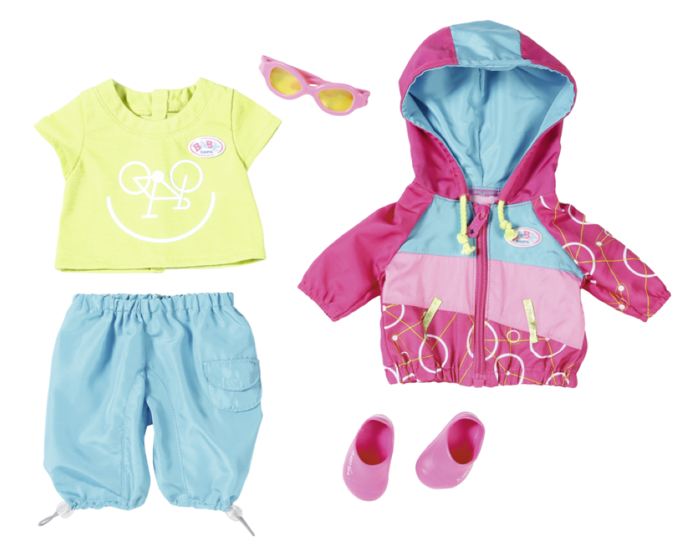 Baby Born - Play&Fun - Biker Outfit