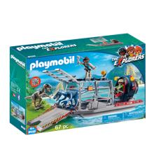 Playmobil - Propelbåd med dinobur (9433)