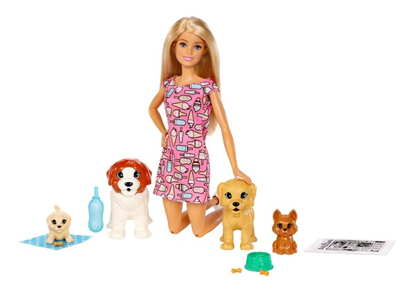 Barbie - Doggy Daycare Potty Training Playset (FXH08)
