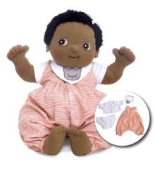Rubens Barn - Rubens Baby dukke med ble - Nora (120096)