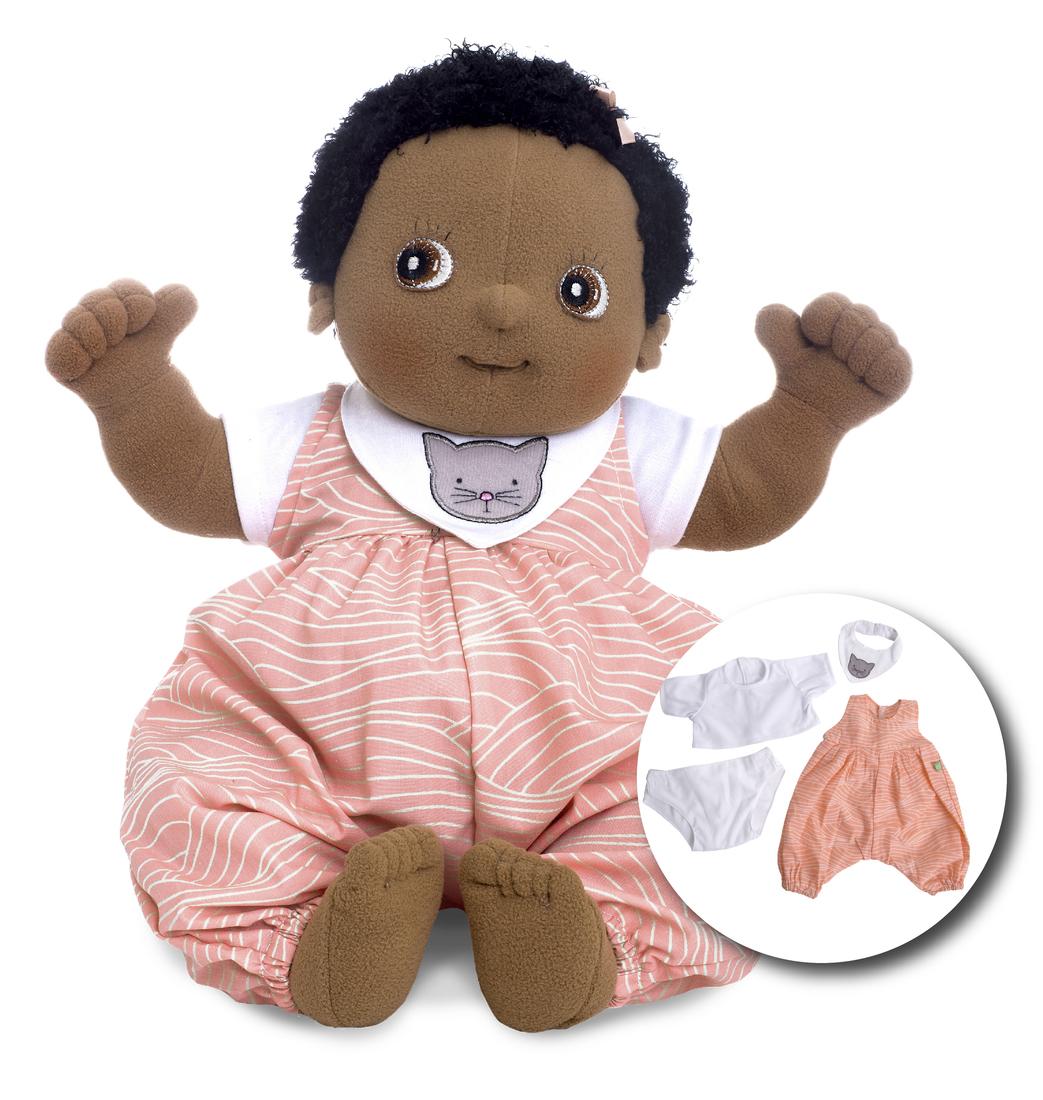 Rubens Barn - Rubens Babypuppe mit Windel - Nora