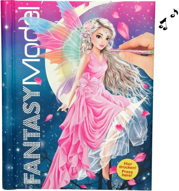 Top Model - Fantasy Coloring Book w/ Lights and Sounds