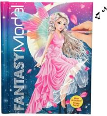 Top Model - Fantasy Malebog med lys og lyd (043433)