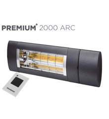 Solamagic - PREMIUM+ 2000 ARC-varmelampe - 5 Års Garanti