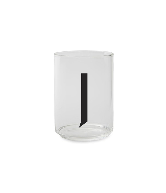 Design Letters - Personal Drinking Glass J