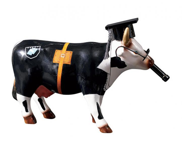CowParade - Cow Doutora - Medium (92832)