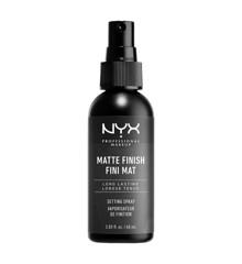 NYX Professional Makeup - Matte Finish Setting Spray 60 ml