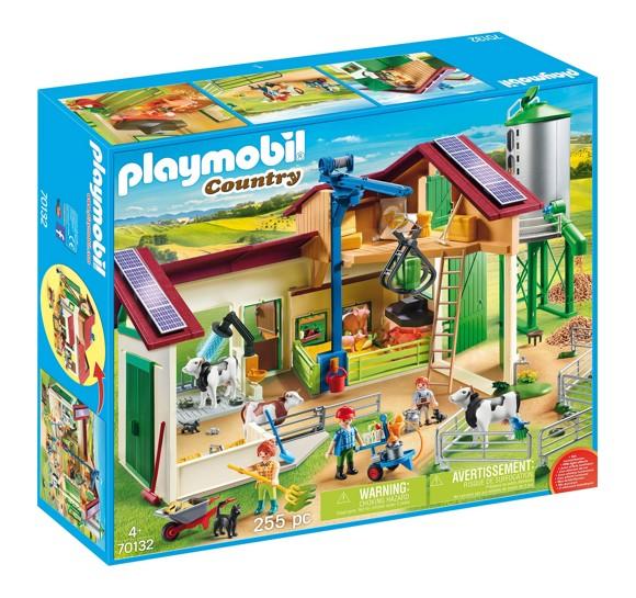 Playmobil - Farm with Animals (70132)