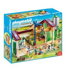 Playmobil - Gård med dyr (70132)
