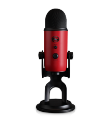 Blue - Microphone Yeti Satin Red