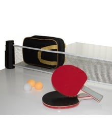 My Hood - Tabletennis Set w. Balls/Net/Bats (901020)