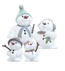Klarborgnisser Snowman Set Fini, Fry, Eluf & Elfi (93479)