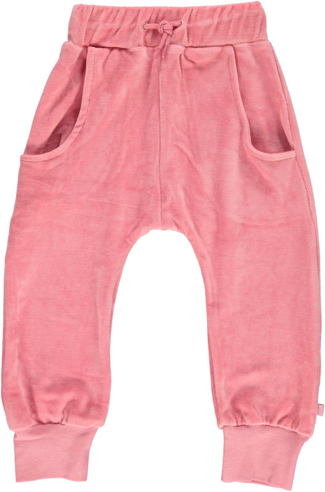 Småfolk - Velvet Pants - Blush