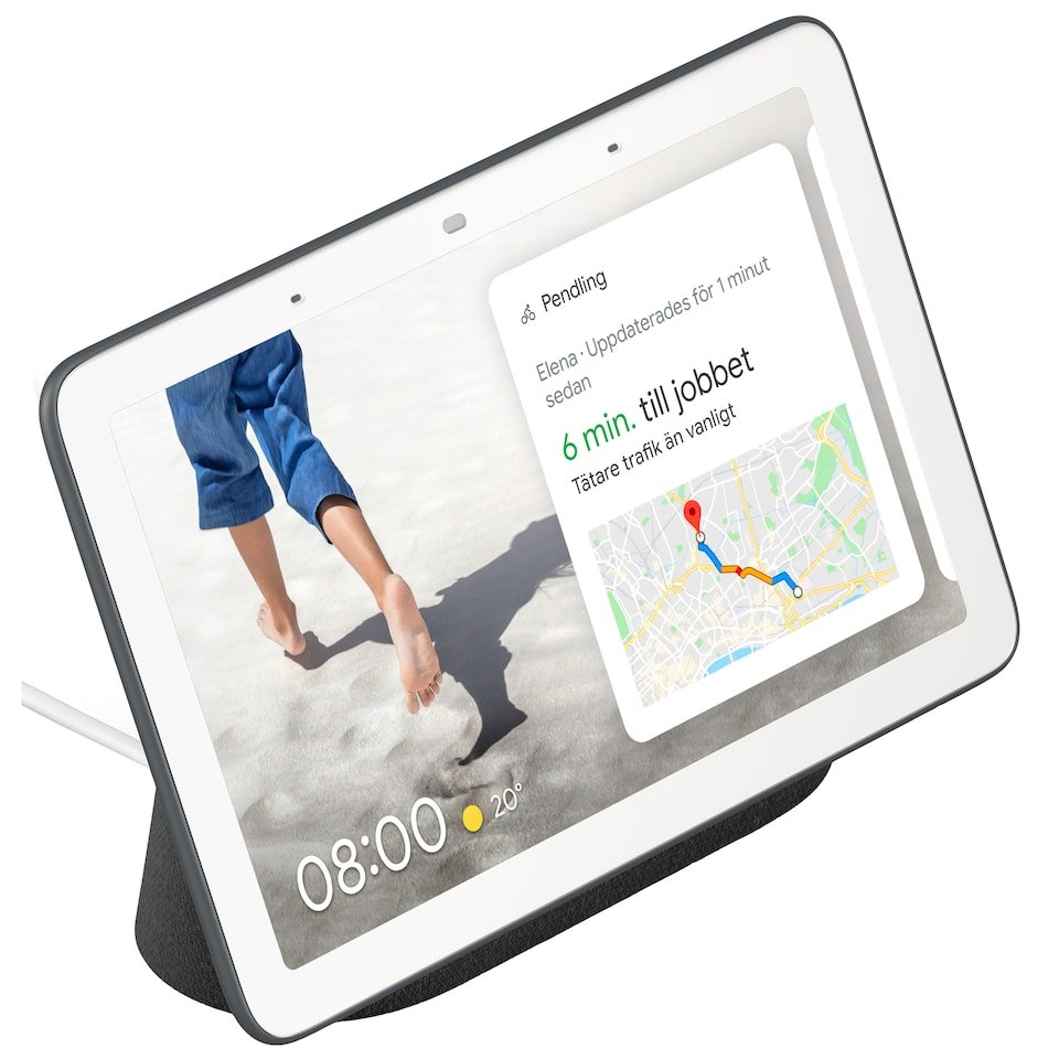 Google Nest Home HUB Charcoal Nordics