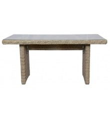 Vila - Gotland Garden Table 141 x 76 cm - Nature/Off White (624761)
