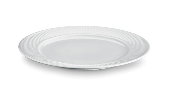 Pillivuyt - Plissé Plate Flat - Ø26 cm - Grey (214226 G)