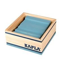 Kapla - Hellblaue Steine - 40 Stück