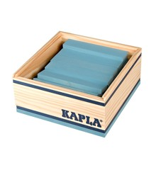 Kapla - Light blue bricks - 40 pc