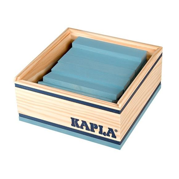 Kapla - Light blue bricks - 40 pc