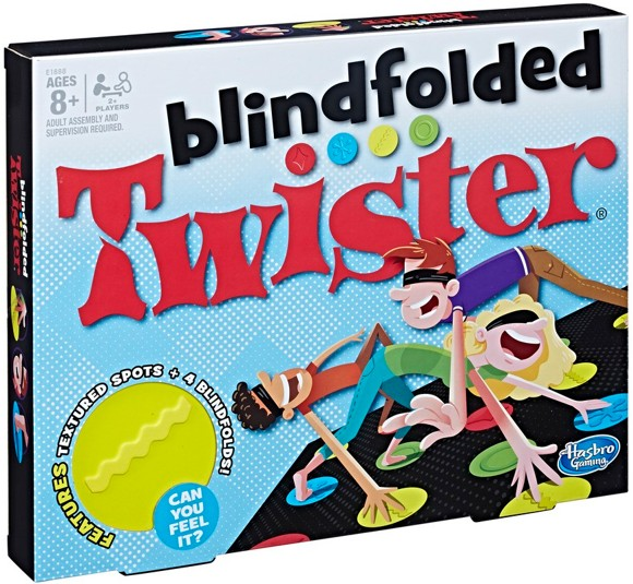 Hasbro Gaming - Blindfolded Twister (E1888)