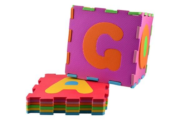 Magni - Foam floor puzzle with alphabet (1257)