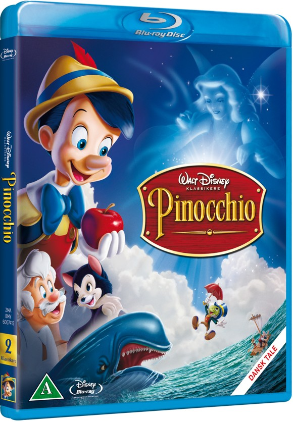 Disneys Pinocchio (Blu-Ray)