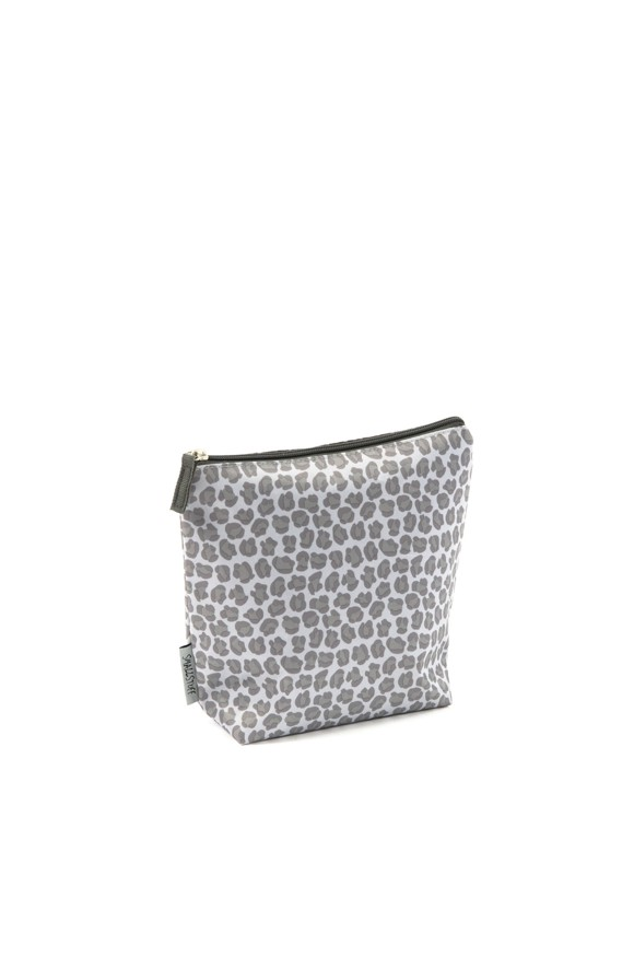 Smallstuff - Large Toiletbag - Leopard, Grey
