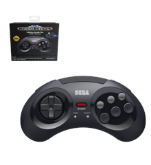 Retro-Bit SEGA MD 8-B 2.4G WL Black