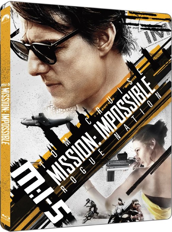 Mission: Impossible 5 (Rogue Nation) - Steelbook (Blu-Ray)