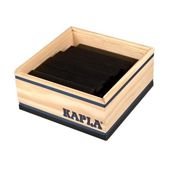 Kapla - Black bricks - 40 pc