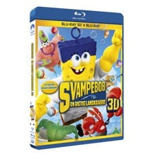 The Spongebob Movie: Sponge Out of Water (3D Blu-Ray)