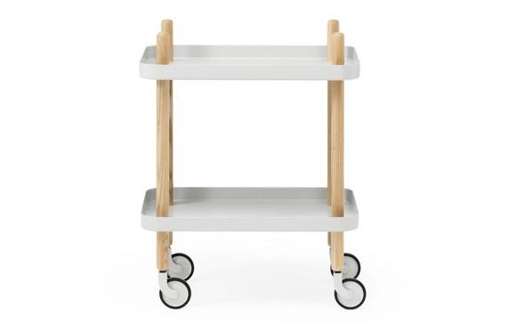Normann Copenhagen - Block Table - Light Grey (602200)
