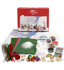 DIY Kit - Materialenset Voor Een Kerstlandschap Set