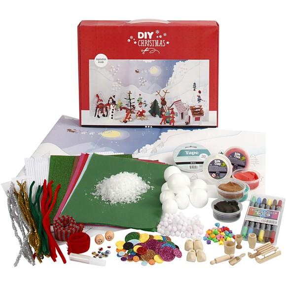 DIY Kit - Materialesæt til Julelandskab