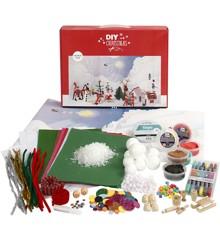 DIY Kit - Materialsett til Julelandskap