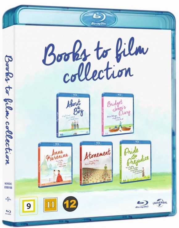 About a boy/Bridget Jones Diary/Anna Karenina/Atonement/Pride & Prejudice - Collection (Blu-Ray)