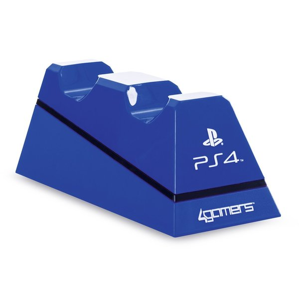 Playstation 4 Charge Play and Charge Cables - Blue