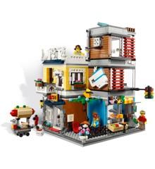 LEGO Creator - Byhus med dyrehandel og café (31097)
